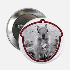 "St Louis RALLY SQUIRREL 2.25"" Button"