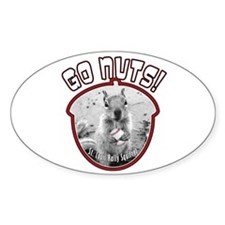 RALLY SQUIRREL Go Nuts St Louis Decal