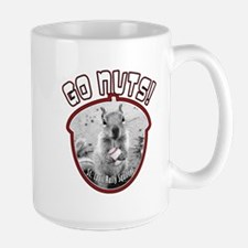 RALLY SQUIRREL Go Nuts St Louis Large Mug