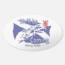 Scotland We'll be Coming Decal