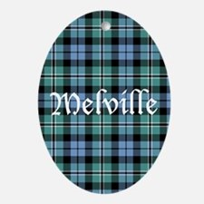 Tartan - Melville Ornament (Oval)