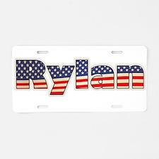 American Rylan Aluminum License Plate