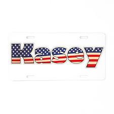 American Kasey Aluminum License Plate