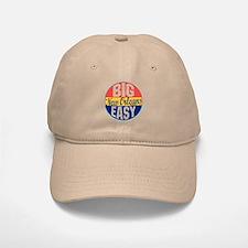 New Orleans Vintage Label Baseball Baseball Cap
