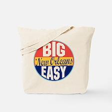 New Orleans Vintage Label Tote Bag