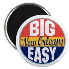 New Orleans Vintage Label Magnet