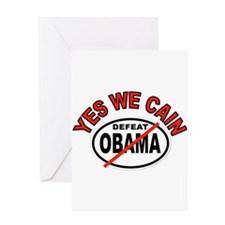 YES WE CAIN WIN Greeting Card