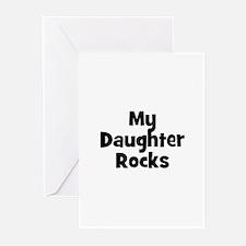 My Daughter Rocks Greeting Cards (Pk of 10)