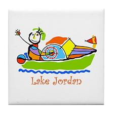 Kid's Boat Tile Coaster