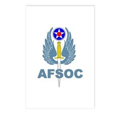 AFSOC (1) Postcards (Package of 8)