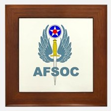 AFSOC (1) Framed Tile