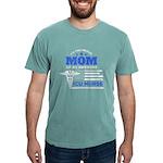 RN NURSE Organic Men's Fitted T-Shirt (dark)