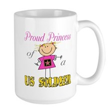Proud Princess of Soldier Mug
