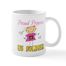 Proud Princess of Soldier Mug