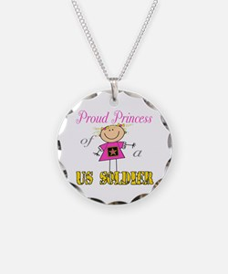 Proud Princess of Soldier Necklace