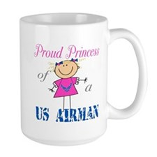 Proud Princess of Airman Mug