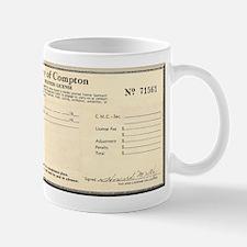 Compton Business License Mug