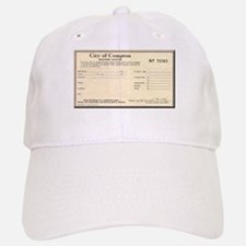 Compton Business License Baseball Baseball Cap