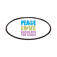 Peace Love Dancing With The Stars Patches
