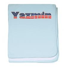 American Yazmin baby blanket