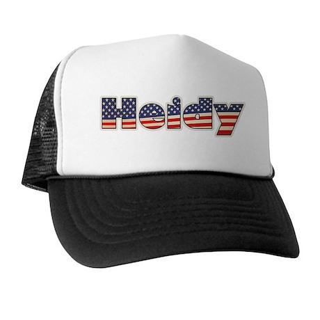 American Heidy Trucker Hat
