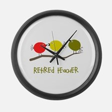 Retired Professionals Large Wall Clock