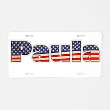 American Paula Aluminum License Plate