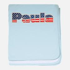 American Paula baby blanket