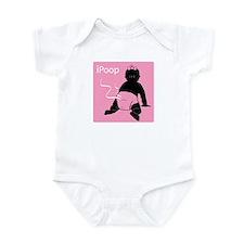 Cute Ipoop Infant Bodysuit