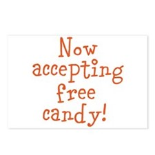 Now Accepting Free Candy Postcards (Package of 8)