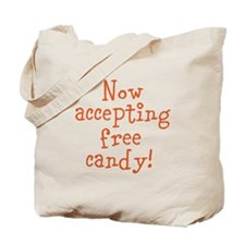 Now Accepting Free Candy Tote Bag