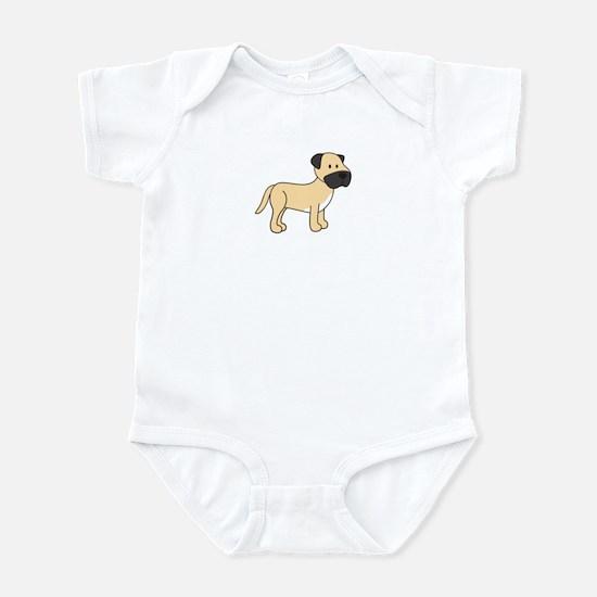 Cute Mastiff Infant Bodysuit