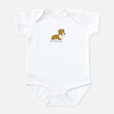 Cute Collie Infant Bodysuit