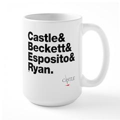 Castle&Friends Large Mug