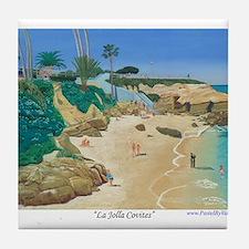 La Jolla Covites Tile Coaster