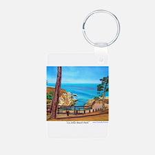 La Jolla Beach Path Keychains