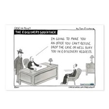 eDiscovery Godfather Postcards (Package of 8)