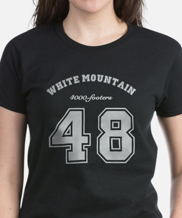 Nh White Mountain 4000-Footer Women's Dark T-Shirt