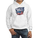 Navy Husband Hooded Sweatshirt