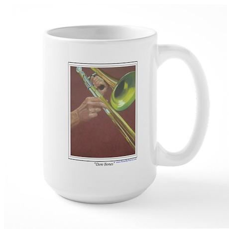 Dem Bones Large Mug
