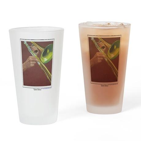 Dem Bones Drinking Glass