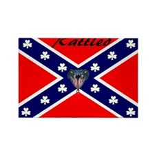 hillbilly logo Rectangle Magnet