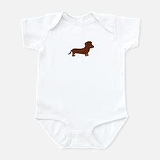 Cute Dachshund Infant Bodysuit