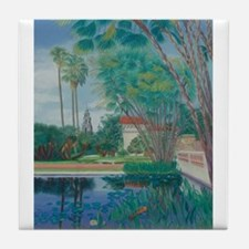 Balboa Park Pond Tile Coaster