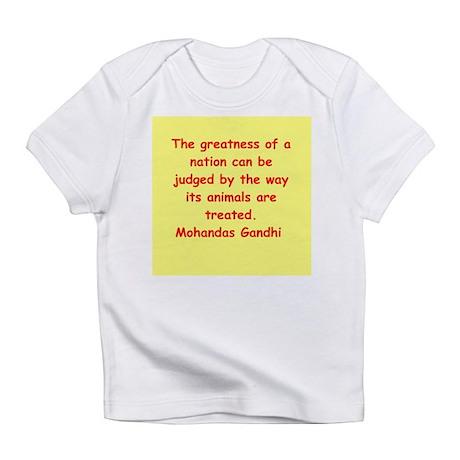 gandhi quote Infant T-Shirt