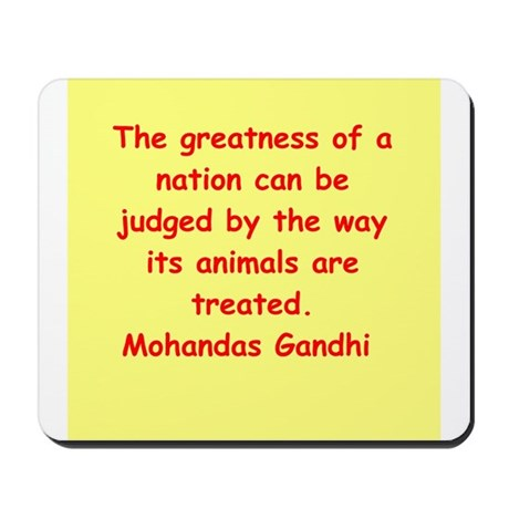 gandhi quote Mousepad
