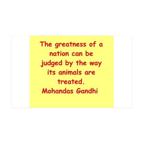 gandhi quote 38.5 x 24.5 Wall Peel