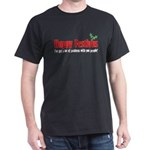happy-FESTIVUS™-lot-of-problems-black T-Shirt
