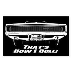 How I Roll - Charger Decal