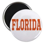 Orange Florida Merchandise Magnet